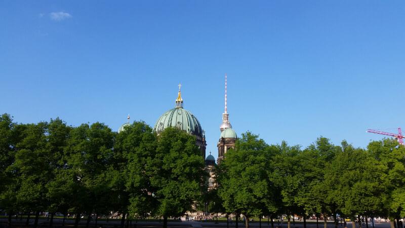 Przed Katedrą Berlińską