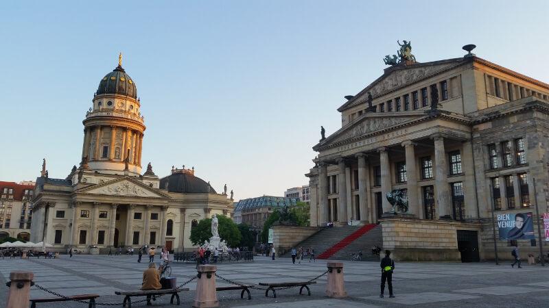 Konzerthaus i Katedra Niemiecka
