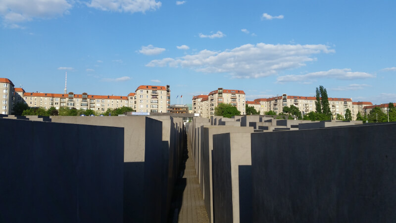 Berlin pomnik - bryły