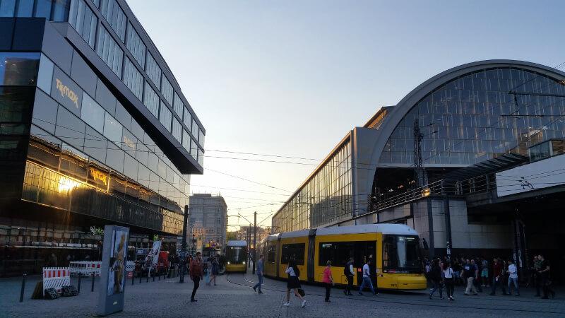 Wyjście z Alexanderplatz