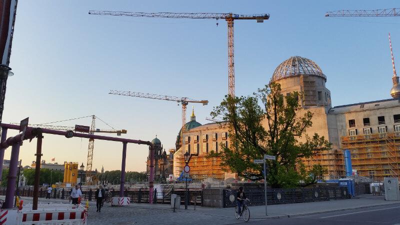 Berlin odbudowa
