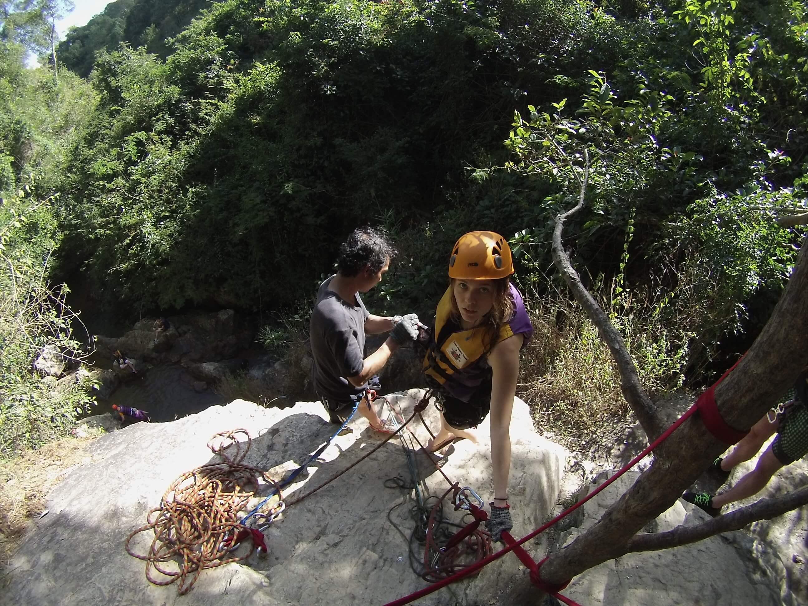 Wycieczka po wodospadach - canyoning - wietnam - wywczas