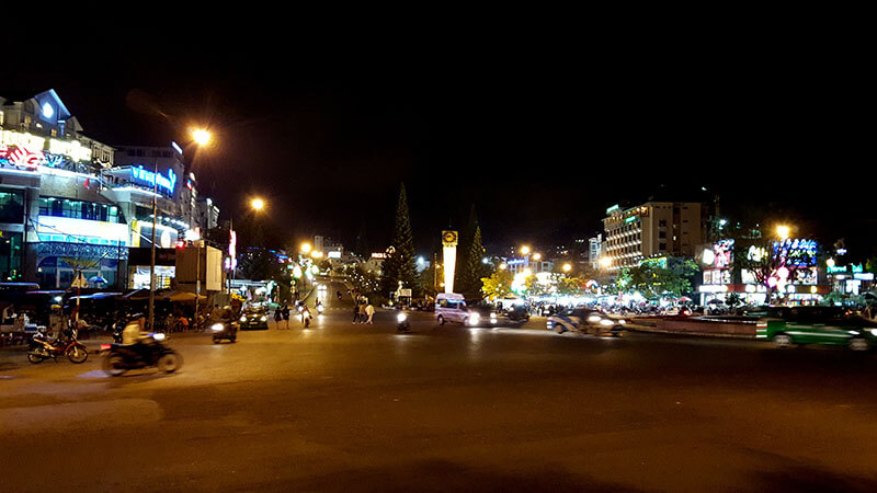 Da Lat nocą - Wietnam