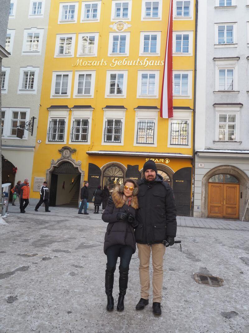 Wycieczka Salzburg - Mozart gebursthaus