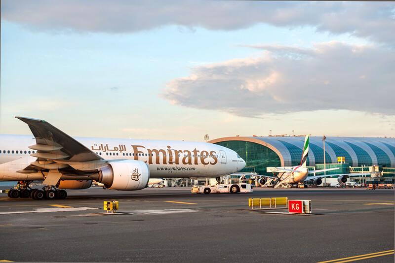 Lotnisko w Dubaju Emirates