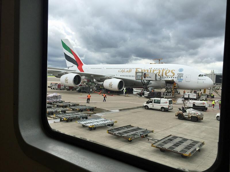 Lotnisko w Dubaju - Emirates