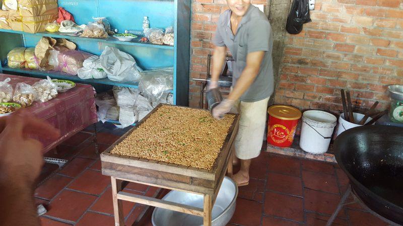 Produkcja kokosowych szyszek