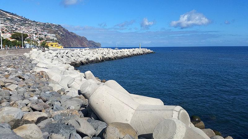 Falochrony - Madera Funchal