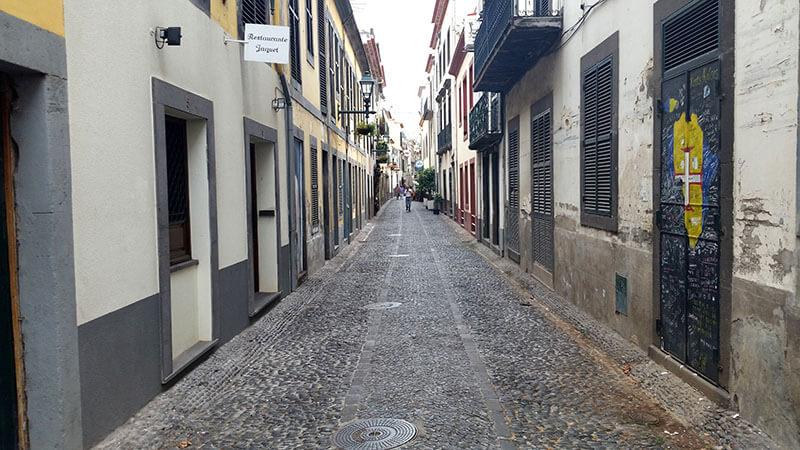 Madera - Funchal Rua de santa maria