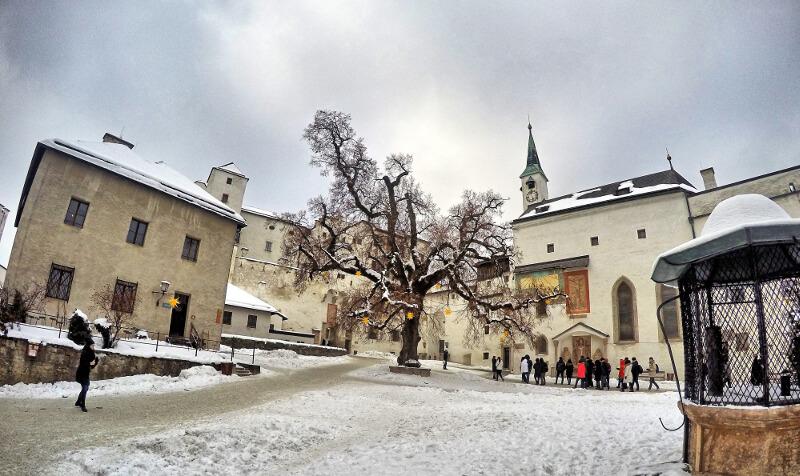 Hohensalzburg - w środku - zwiedzanie Salzburga