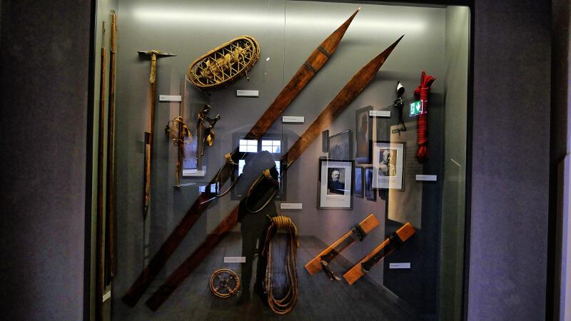 Zwiedzanie Salzburga - wystawa zamek