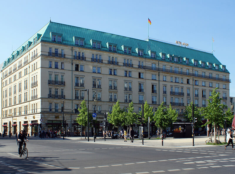 Hotel Adlon W Berlinie