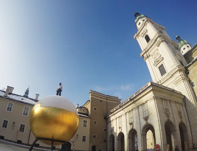 Salzburger Dom - wycieczka po Salzburgu
