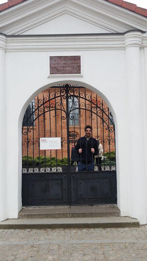Kościół w Brochowie - brama