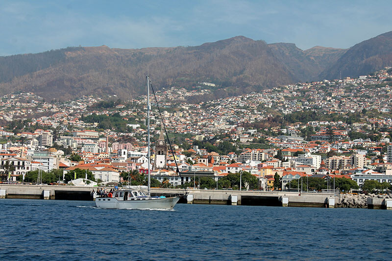 Madera - funchal port