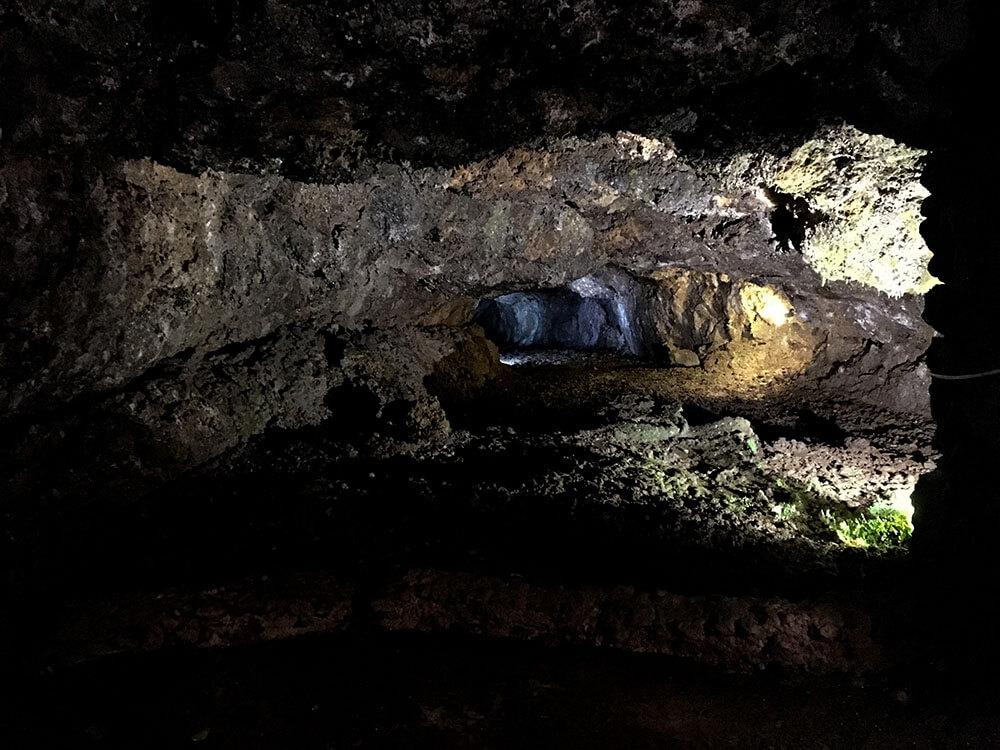 madera-sao vincente - zwiedzanie jaskini wulkanicznej