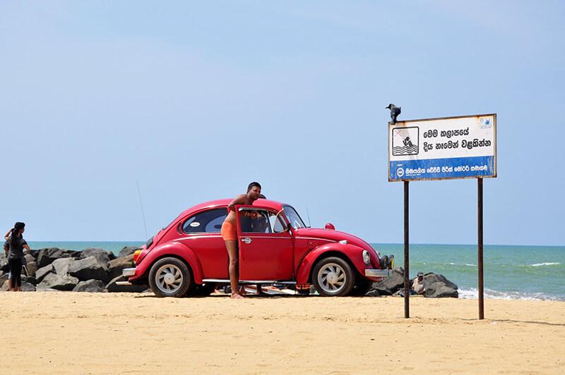 Plaża w Negombo Sri Lanka