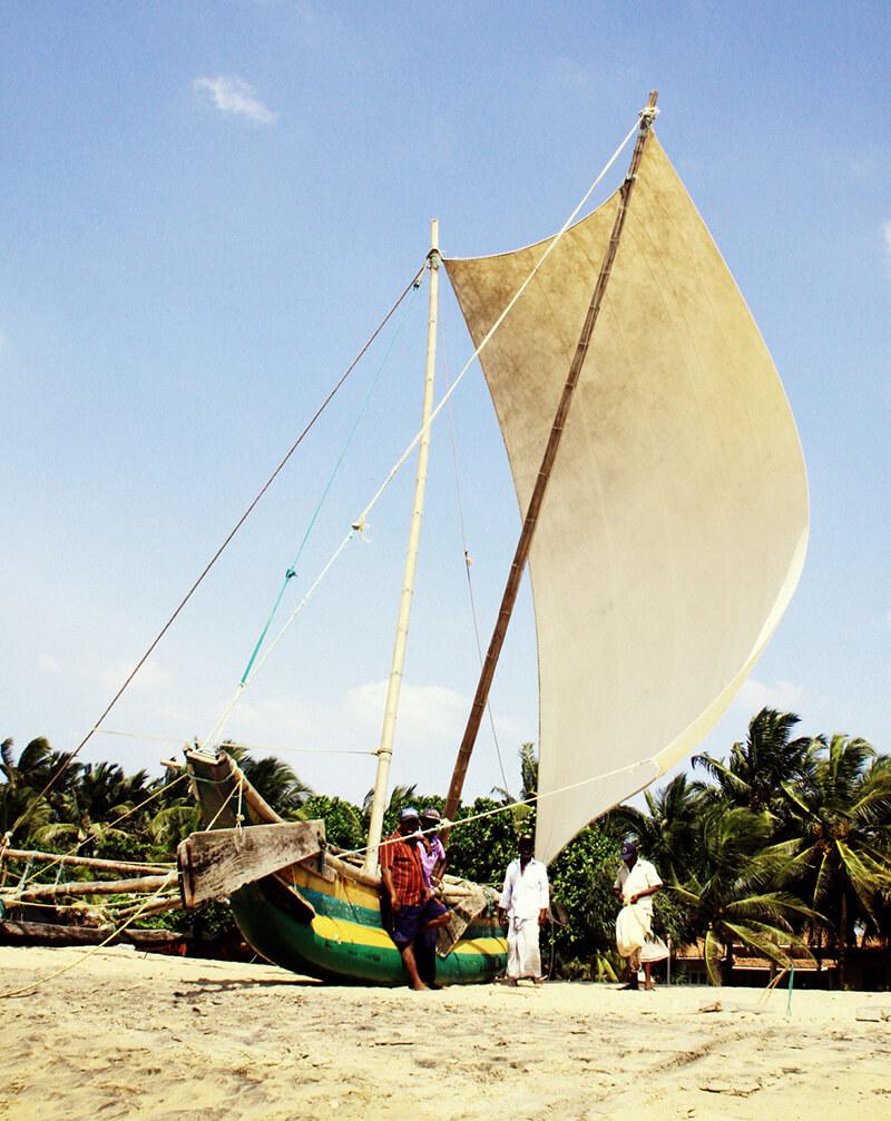 Negombo plaża Statet Sri Lanka