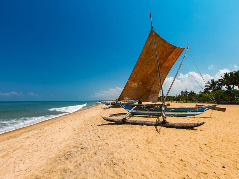 Negombo plaża