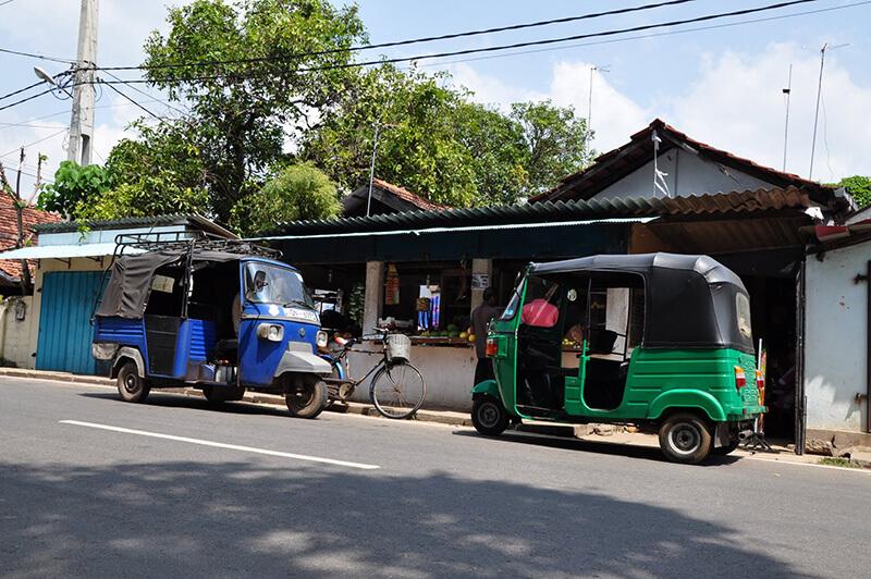 ulice Negombo - Sri Lanka