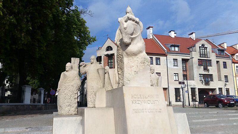 Pomnik Bolesława Krzywoustego W pŁOCKU