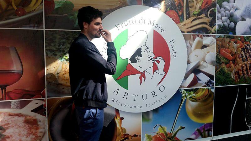 Płock - restauracja Arturo