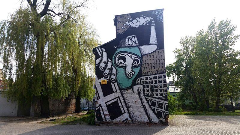 Płock - murale