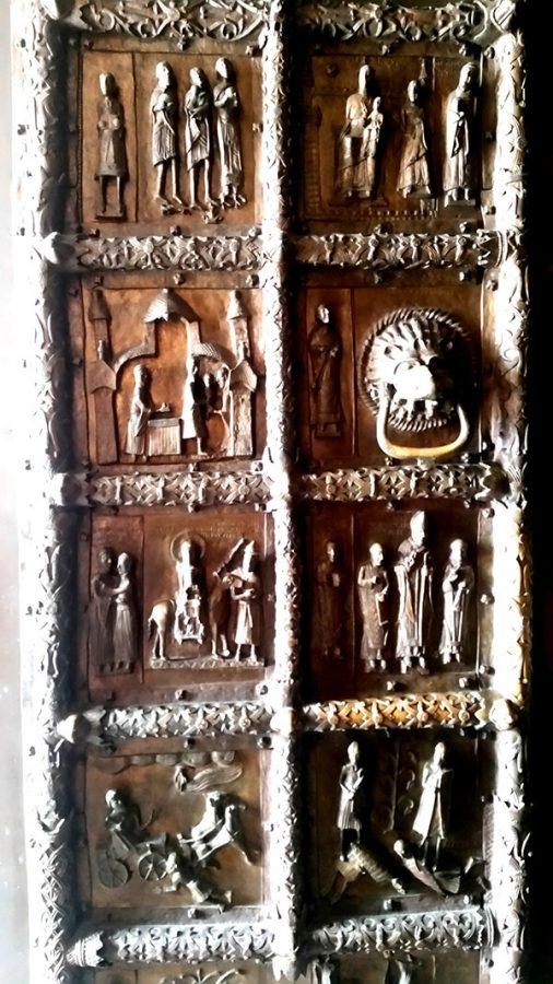 Katedra w płocku - wejście