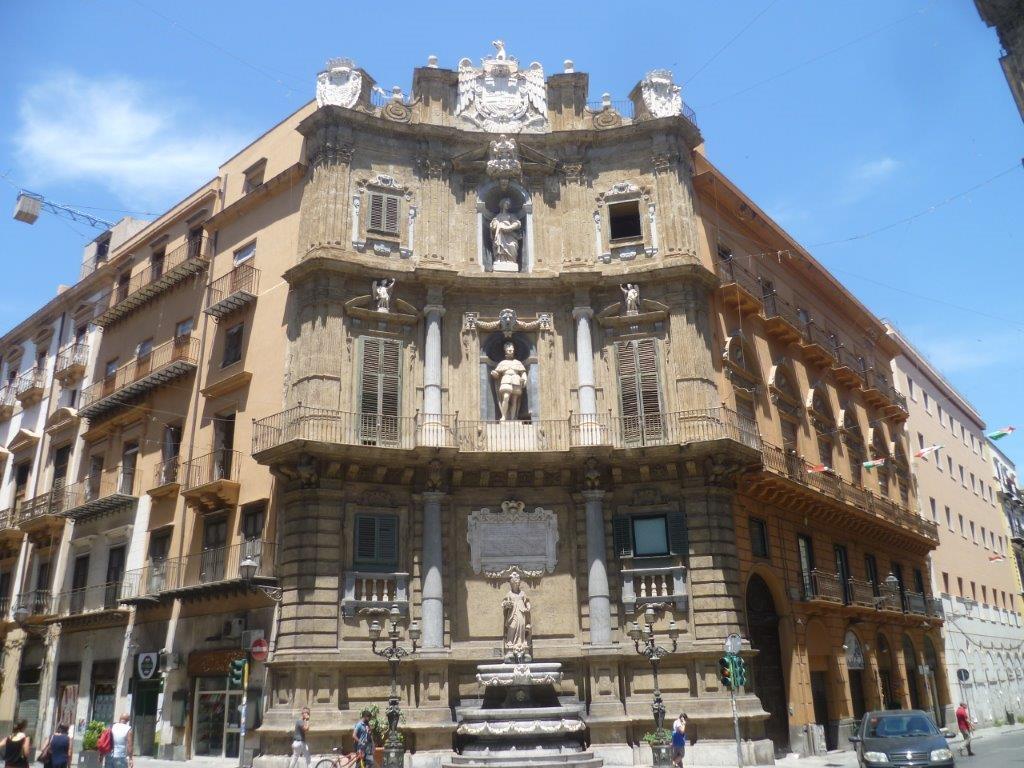 Barokowa Kamienica w Palermo - Sycylia