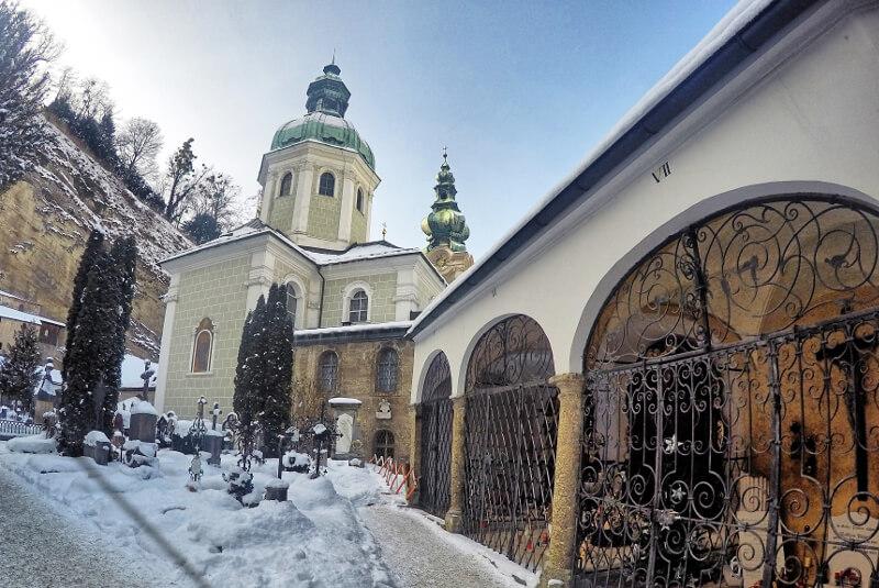 Cmentarz Salzburg - Zwiedzanie Salzburg