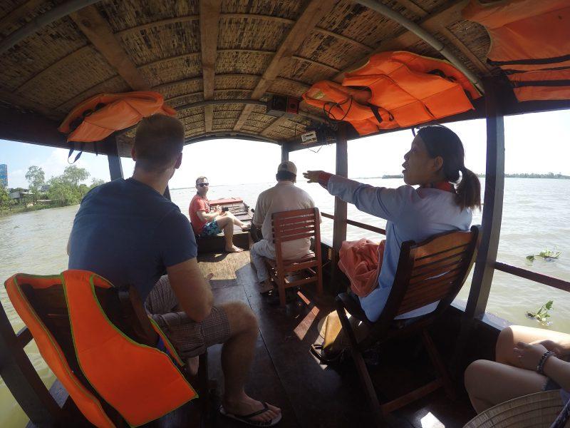 Rejs po Mekongu w prywatnej łodce