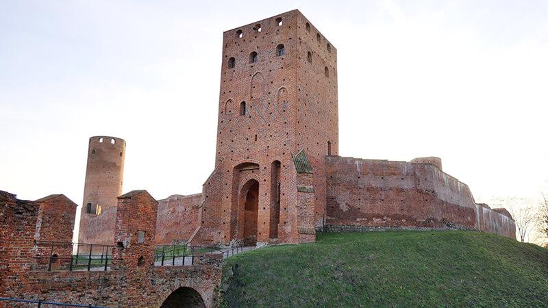 Ruiny Zamku w Czersku