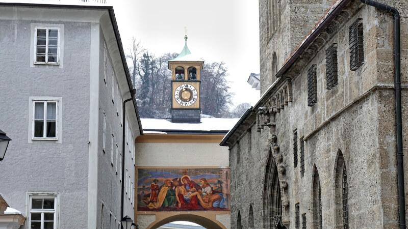 Salzburg Zwiedzanie Zamku