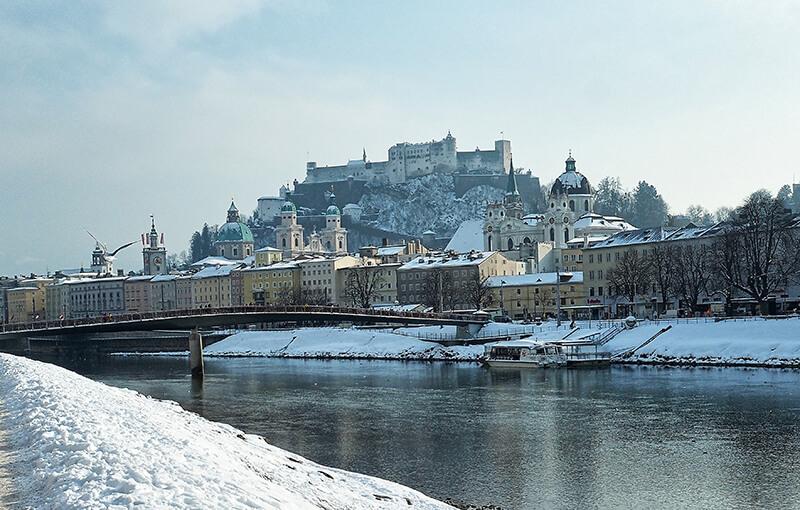 Salzburg- Austria - widok na miasto