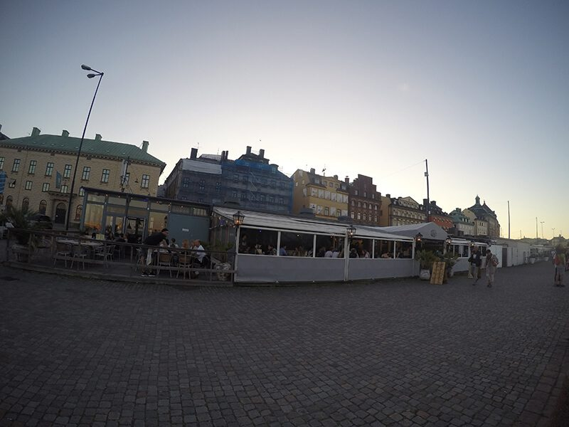 Bulwary przy Galma Stan Sztokholm