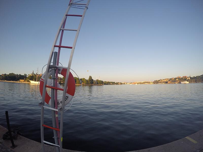 Bulwary przy Galmas Stan Sztokholm