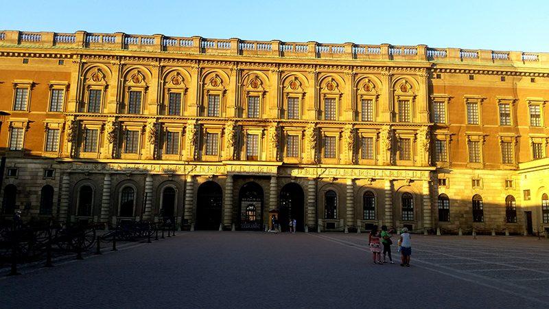 Pałac Królewski Galma Stan Sztokholm