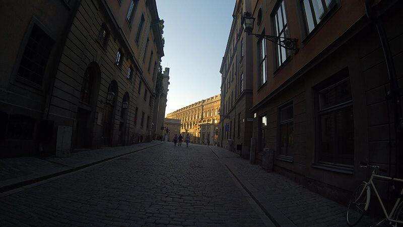 Sztokholm- Galma stan starówka