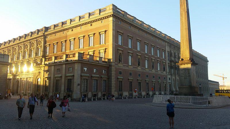 Sztokholm royal palace wywczas