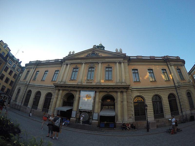 Muzeum Nobla - Sztokholm