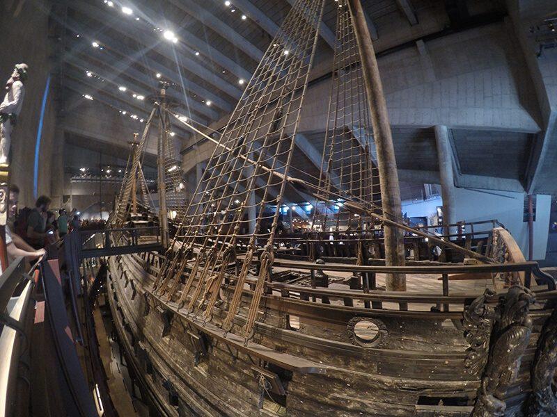 Replika okrętu Vasa - Sztokholm