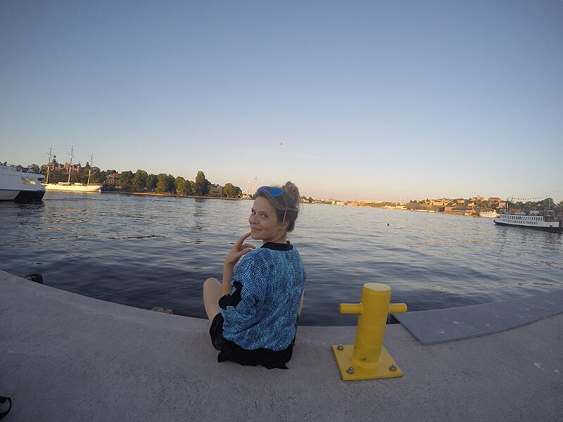 Chill nad wodą Gamla Stan