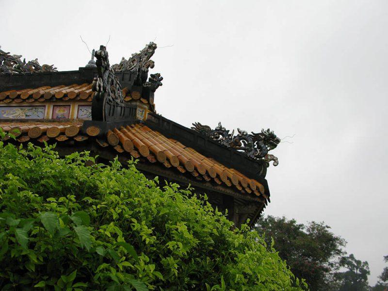 deszczowy Wietnam - Hue