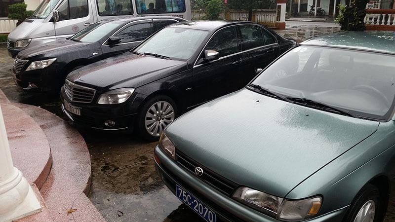 Tablice rejestracujne na samochodach Wietnam