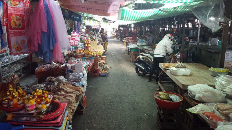 Bazar w Delcie Mekongu