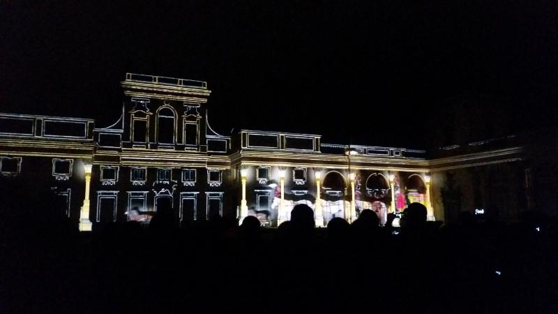 Pokaz świateł - bajki- Wilanów Warszawa