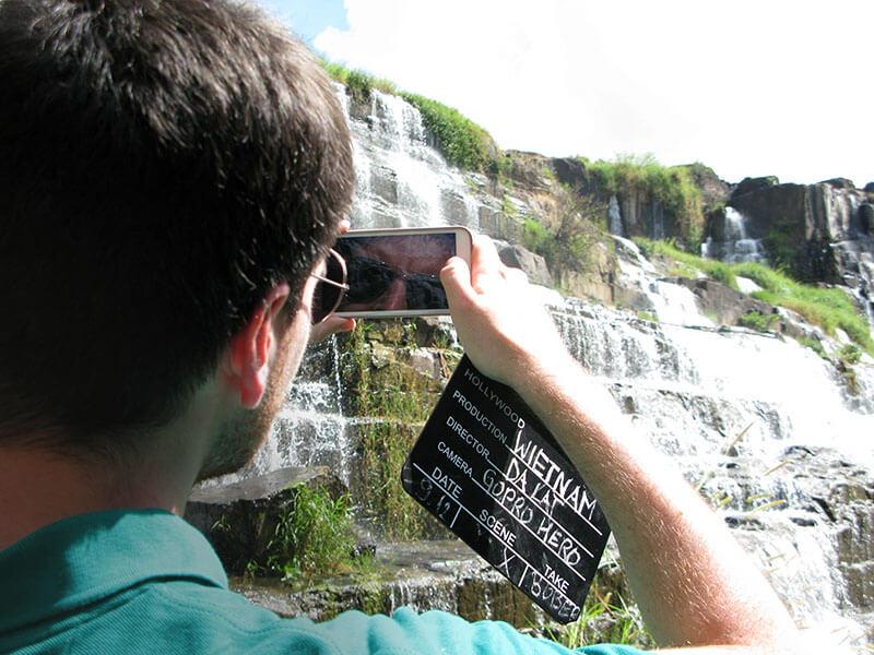 Wodospad Pongour - Wietnam - czasnawywczas.pl
