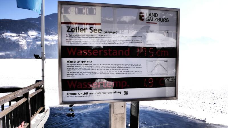 Pokrywa lodu Zeller See