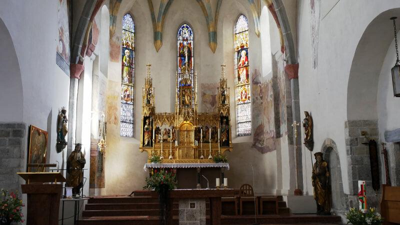 Kościół Świętego Hippolita - Zell am See