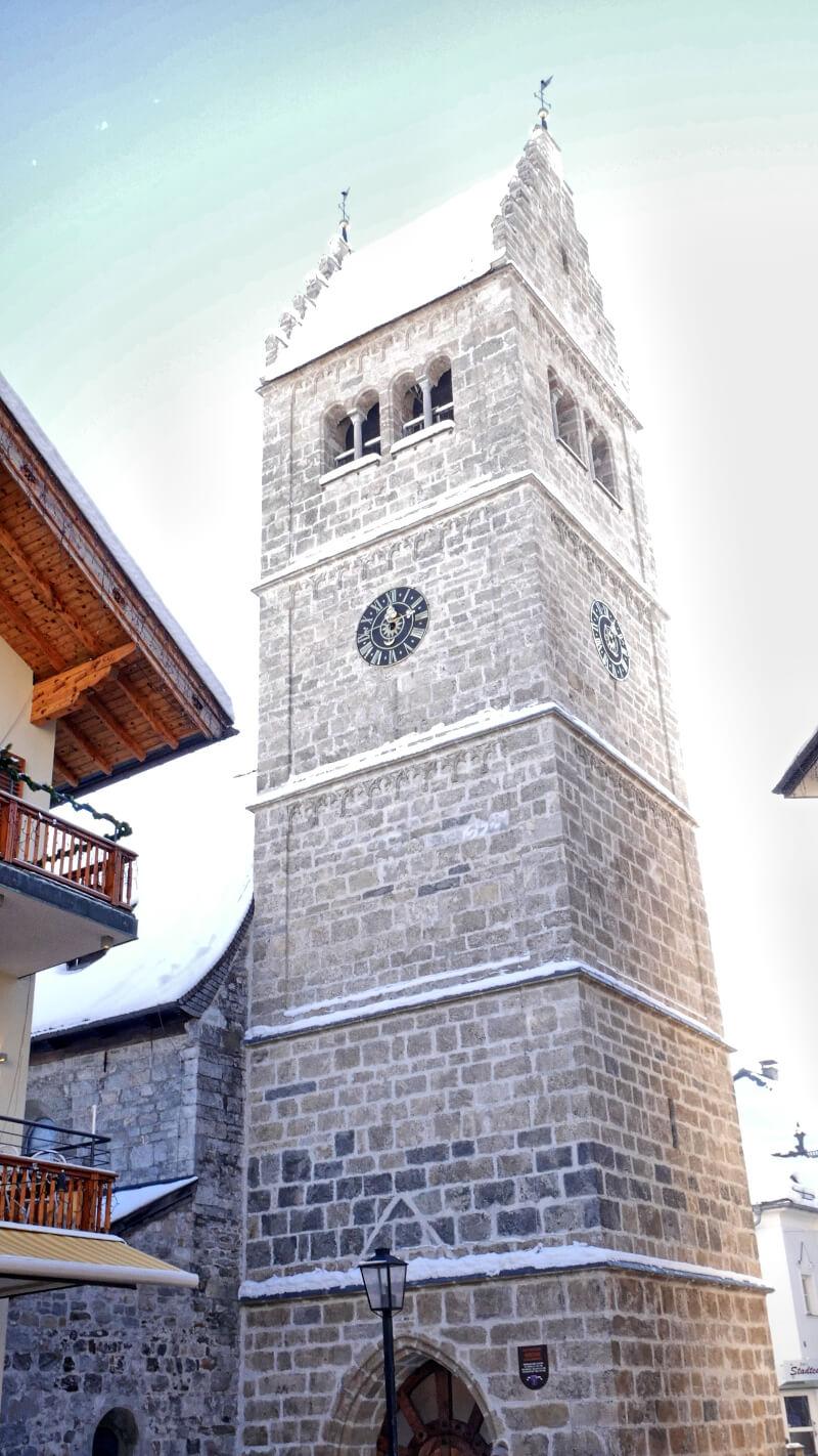 Zwiedzanie Zell am See Kościół